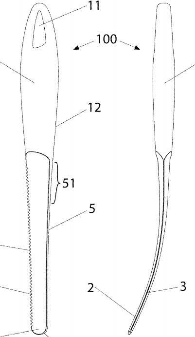 Inventos y patentes - Cuchillo especial sandia melon