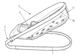 Inventos - patentes - Hamacas para bebes - 1