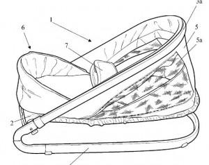 Inventos - patentes - Hamacas para bebes - 2