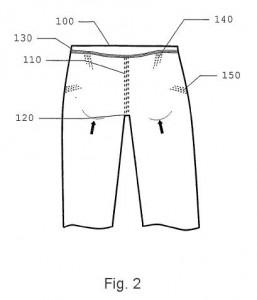 Inventos - patentes - Prenda de vestir levanta gluteos - 2