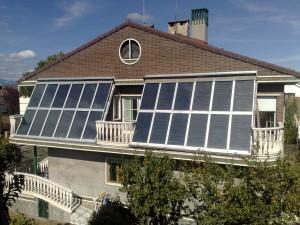 Captador solar larga duracion