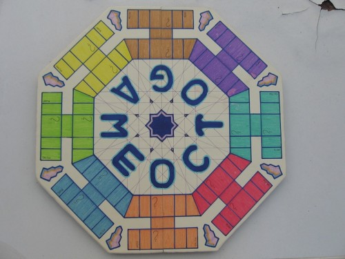 tablero juego de mesa octogame